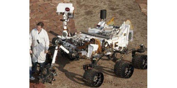 Sie können der Marssonde Mars Rover Curiosity auf Facebook folgen