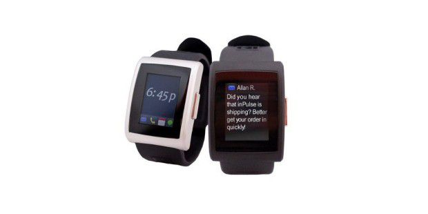 Technik zum Anziehen. Wie hier die InPulse Smart Notification Watch.