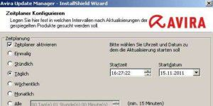 Avira Update Manager