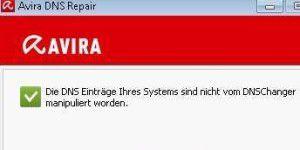 Avira DNS-Repair