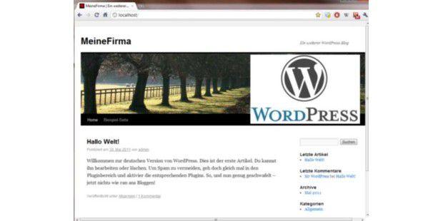 Mit Wordpress in 10 Schritten zur eigenen Website