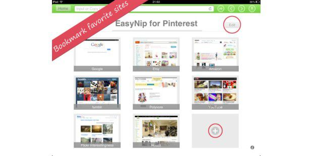 EasyPin for Pinterest