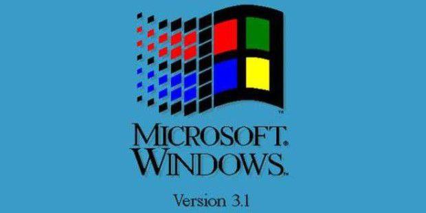 Wir werfen einen Blick zurück auf Windows 3.1.