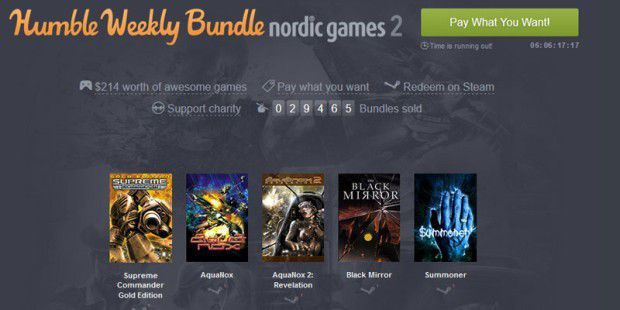 Humble Weekly Bundle Nordic Games 2