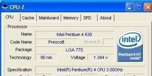 Hardware-Analysetool: CPU-Z
