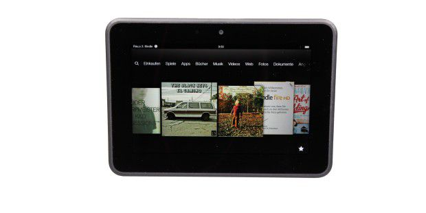 Amazons Einkaufs-Tablet: Kindle Fire HD