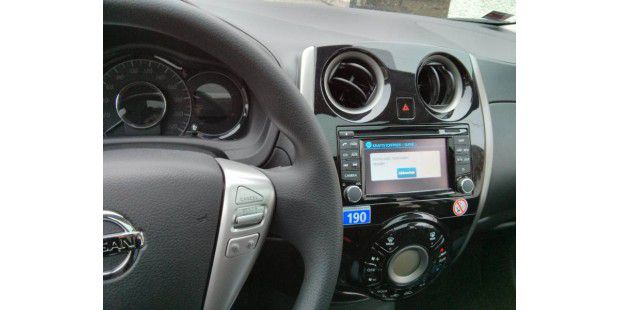 Nissan Connect im Note