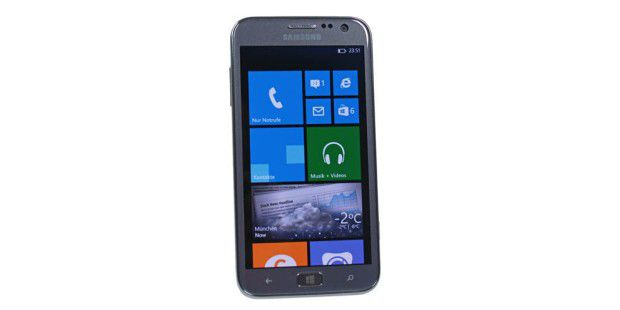 Erstes Samsung-Smartphone mit Windows Phone 8