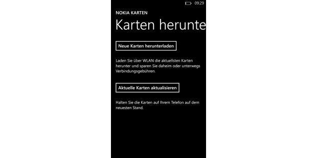 Nokia bringt eigene Dienste auf das neue Flaggschiff. Dazugehören die Nokia Karten mit Sprachnavigation, auch imOffline-Modus.