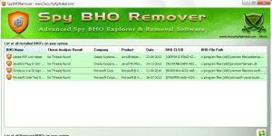 Anti-Spyware-Tool: Spy BHO Remover