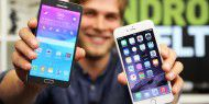 Video: Galaxy Note 4 vs. iPhone 6 Plus im Duell