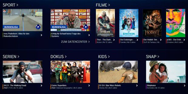 Sky Online: Der neue Video-on-Demand-Dienst von Sky