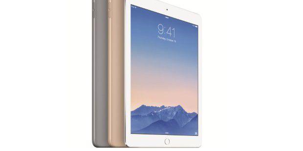 Ein bisschen schneller, ein bisschen leichter: Das iPadAir 2 verbessert das hohe Niveau des Vorgängers minimal