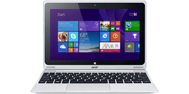 Tastatur inklusive: Das Acer Aspire Switch 10 ist eingünstiges 2in1 mit Windows 8