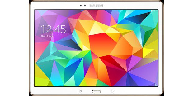 Die beste Bildqualität: Das Samsung Galaxy Tab S 10.5 istmit seinem AMOLED-Bildschirm die Referenz bei denTablet-Bildschirmen