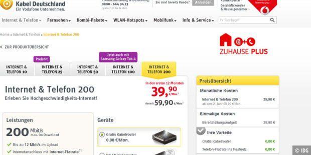 200 Mbit/s: Kabel Deutschland erhöht Surf-Tempo - PC-WELT