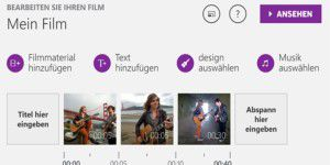 Microsoft Movie Creator für Windows Phone verfügbar