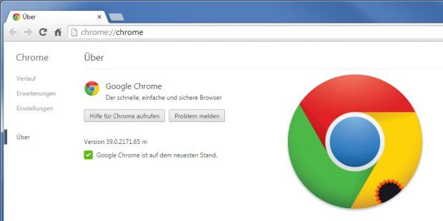 Browser-Update: Chrome 39