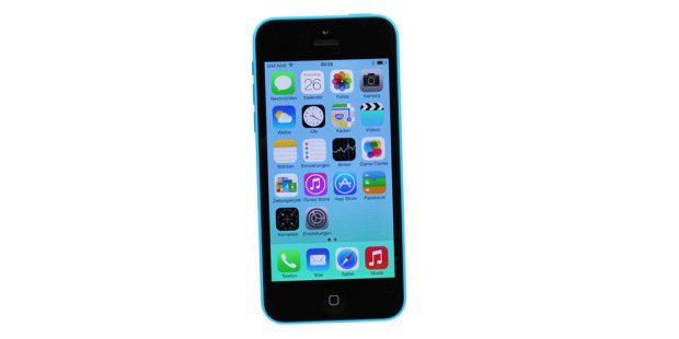 Apple iPhone 5c mit iOS7 im Test
