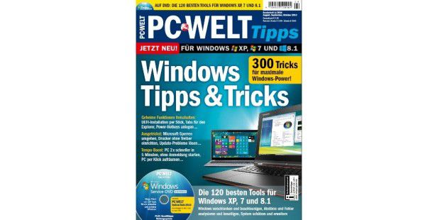 Gratis-Download: PC-WELT Sonderheft Windows-Tricks