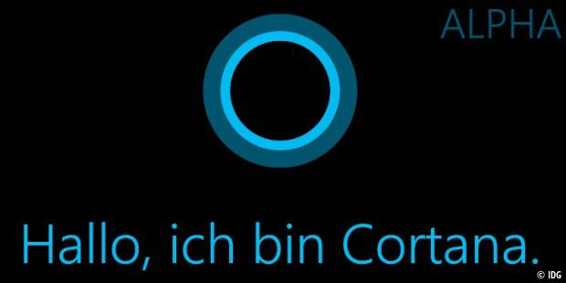 Microsofts Cortana startet am Freitag in deutscher Sprache als Alpha-Version