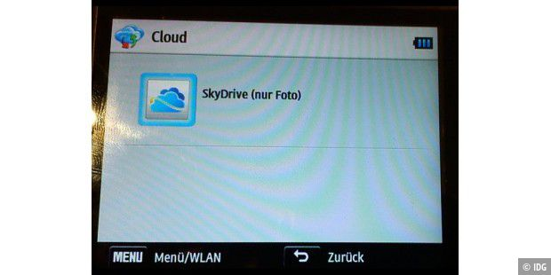 Fotos in die Cloud bringen