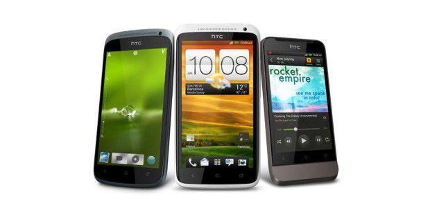 HTC One X, One S und One V: Erster Eindruck
