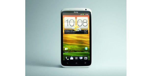 HTC One X mit der neuen Quadcore-CPU Tegra 3.