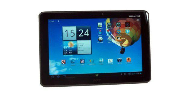 Wenn Sie keine Äpfel mögen: Tablets für unter 400 Euro im Test - zum Beispiel das Acer Iconia A510