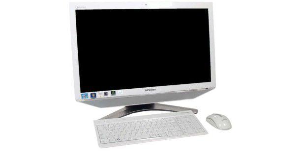 Im Test: Der Toshiba DX730-10K tritt an mit einem großen Touchscreen und einem stilsicheren Äußeren.