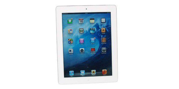Dsa neue iPad: Außen fast gleich zum iPad 2, aber mit höherer Auflösung und besserer Kamera.