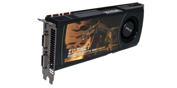 Der Test beweist eine leistungsstarke und übertaktete Version der Nvidia Geforce GTX 580 von Zotac in der AMP! Edition. Einzig die Ergonomie lässt mittlerweile zu wünschen übrig.