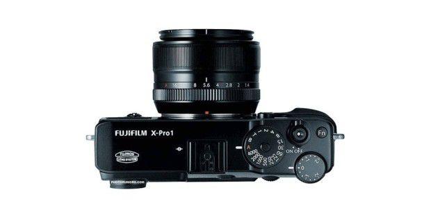 Die Bedienelemente der Fujifilm X-Pro
