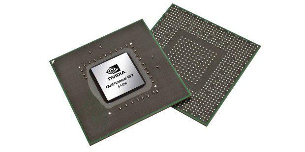 Der Geforce GT 640M gehört zur neuen 600er-Familie vonNvidia