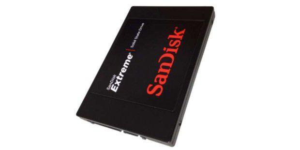 SSD-Festplatte im Test: Sandisk Extreme 120GB