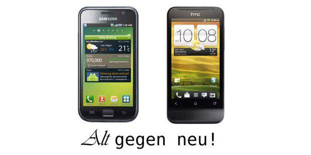 Alt gegen neu: Der Smartphone-Vergleich