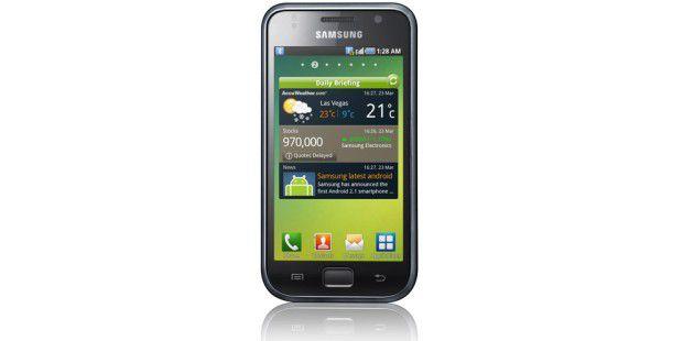 Der Preis des Samsung Galaxy S ist um mehr als die Hälftegefallen.