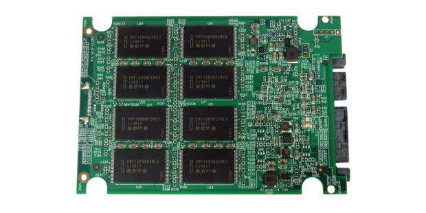 Rückseite der SSD-Platine der Takems UTX-2200240GB