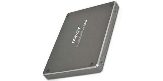 SSD-Festplatte im Test: PNY Professional SSD 120GB