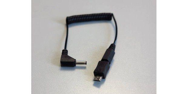 Mit diesem Kabel verbinden Sie den getDigital AnyLoadermit dem Endgerät.