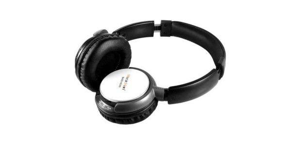 Drahtlos-Kopfhörer mit Micro-SD-Slot: Technaxx Music Man Bass Head