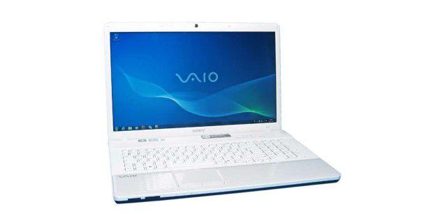 Ganz in Weiß: Sony Vaio VPCEJ3K1E mit 17,3-Zoll-Display im Test