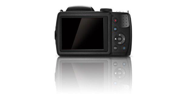 Der Bildschirm der Benq GH700 ist 3 Zoll groß.