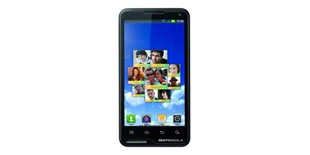 Das Motorola Motolux kommt mit 4-Zoll-Display.