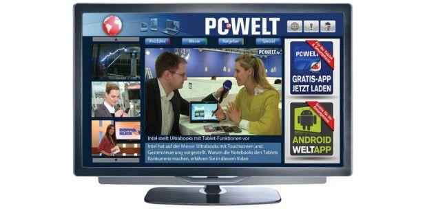 Smart-TV: PC-WELT-App mit News und Ratgeber