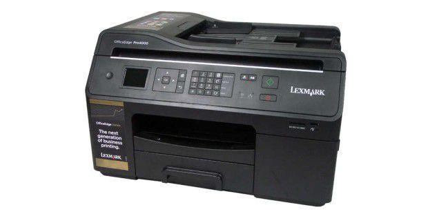 Tinten-Multifunktionsgerät fürs Büro: Lexmark Office Edge Pro 4000