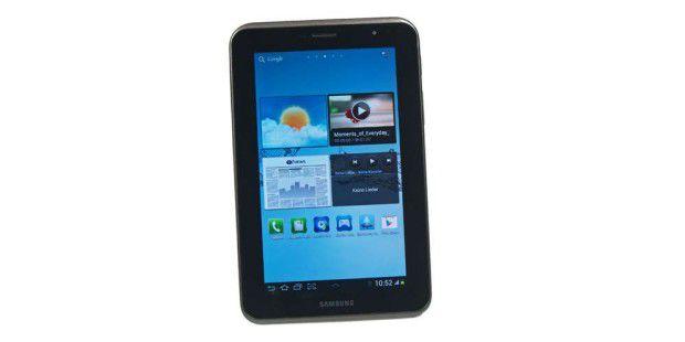 Im Test: 7-Zoll-Tablet Samsung Galaxy Tab 2 7.0