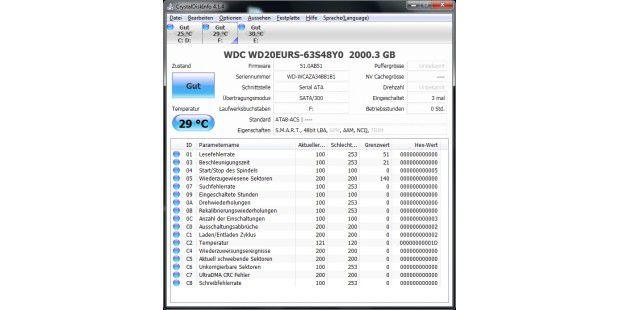 Technische Infos: Western Digital WD20EURS