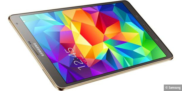Samsung Galaxy Tab S 8.4: Großartiges AMOLED-Display, geringes Gewicht, Telefonfunktion
