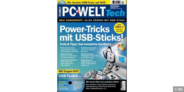 "PC-WELT Tech ""Power-Tricks mit USB-Sticks!"""